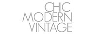 Chic Modern Vintage abstract art blog post